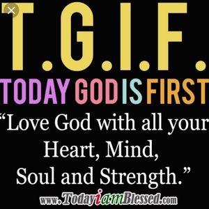 Put God 1st